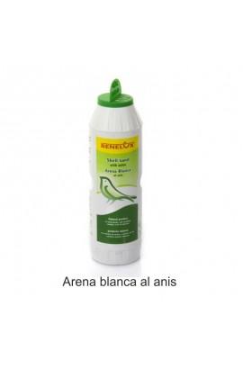 0133 Foto: arena blanca al anis