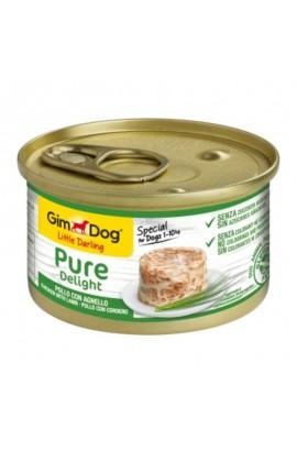 78543 Foto: lata gimdog pollo y cordero 85 gr