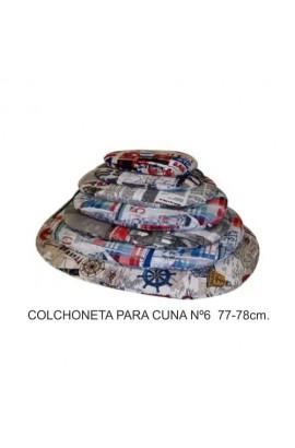 COLCHONETA PARA CUNA Nº 6 77-78CM.