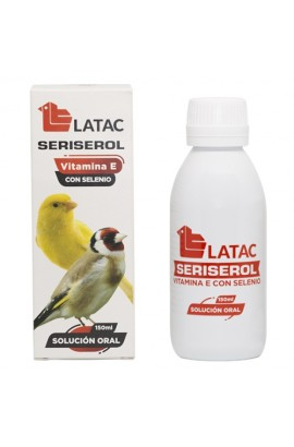SERISEROL VITAMINA E+SELENIO 150ML LATAC