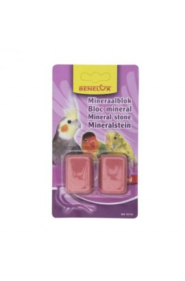 BLOQUE MINERAL NINFAS y AGAPORNIS 2UDS.
