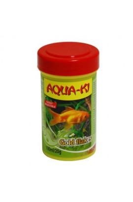 AQUA-KI GOLD FLAKES EN ESCAMAS