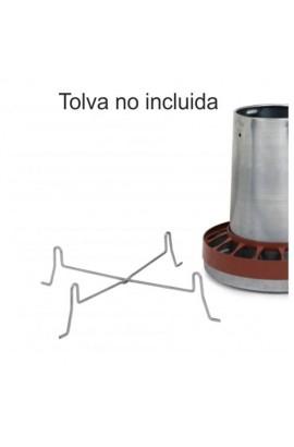 SOPORTE TOLVA CHAPA AVES 5/10 KG.