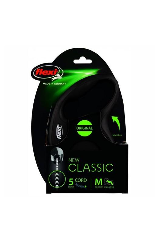 67863 Foto: flexi nuevo clasic M cordon negro