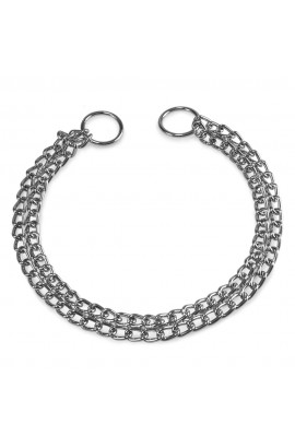 2236 Foto: collar estrangulador doble de cadena