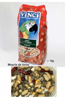 LOROS VINCI 15 KG.